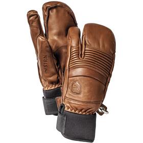 Hestra Leather Fall Line 3 Finger Brun
